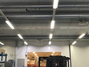 led valo valaistus tuotantotila teollisuus teollisuusvalaistus