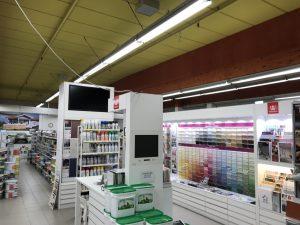 Myymälävalaistus led-valo