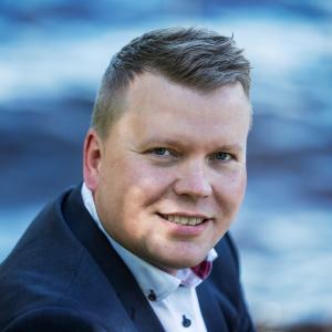 FRG Group Oy:n toimitusjohtaja Sami Jukarainen
