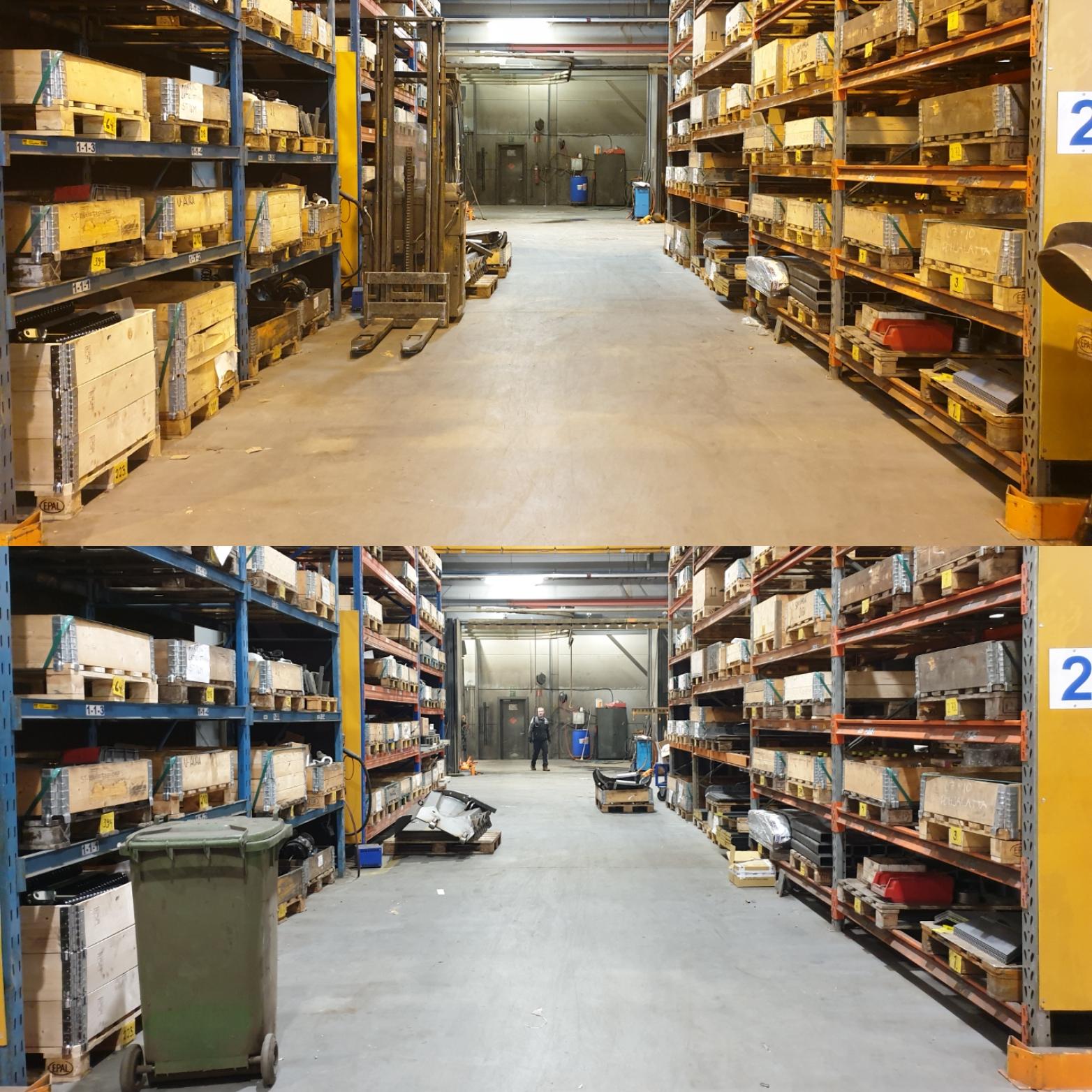 Uusi LED-valaistus parantaa turvallisuutta, vireyttä ja tuottavuutta