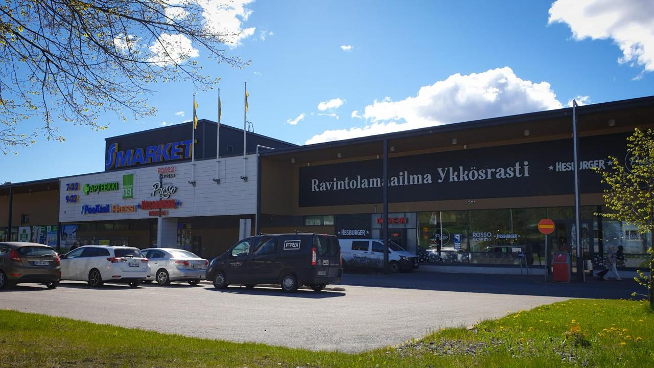 S-market ykkösrasti led-valaistus