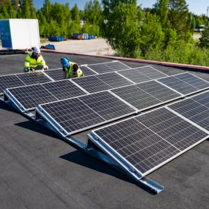 Aurinkovoimalat